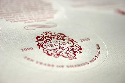 Blush Publishing - Compass Whiskey Label 3