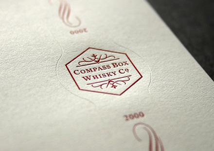 Blush Publishing - Compass Whiskey Label 4