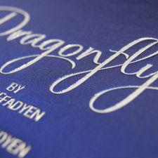 Liquorice Press Dragonfly Letterpress Book