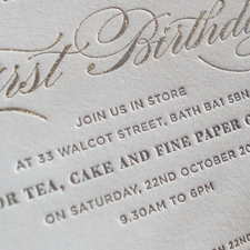 Meticulous Ink's First Birthday