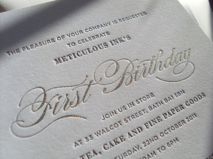Meticulous Ink's First Birthday 3
