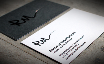 Ramsay MacFarlane Business Card 3