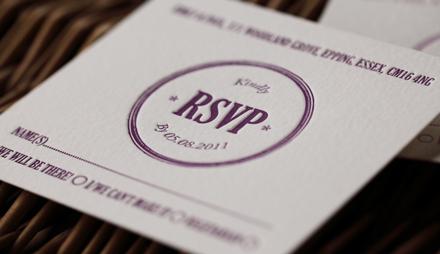 Artcadia Lavender Wedding Invite 5