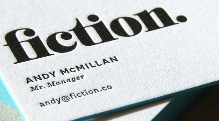 Cranes lettra letterpressed business card uk letterpress and hot typoretum fiction 1 colourmoves