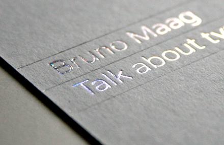 Bruno Maag Invitations 2