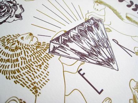 Jubilee Letterpress Calendar 2