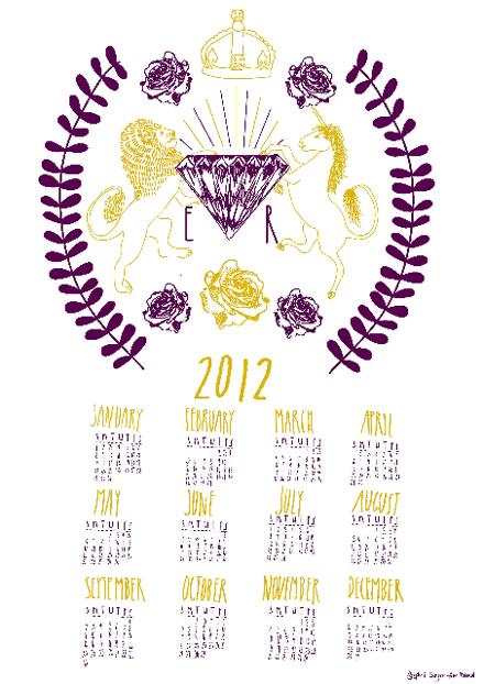 Jubilee Letterpress Calendar 3